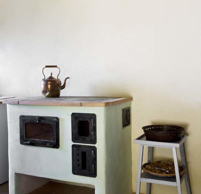 stufa cucina in muratura